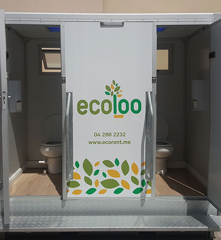solar power portable toilet rental